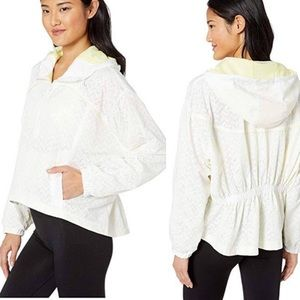 Free People Movement Rain Runner Jacket in White